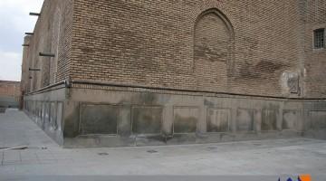 تخریب مسجد کبود تبریز