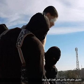 پرتاب از بلندی مجازات همجنسگرایی داعش